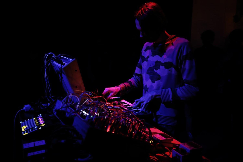 DSR Lines by Laurent Orseau - Concert - Les Ateliers Claus - Brussels, Belgium #4