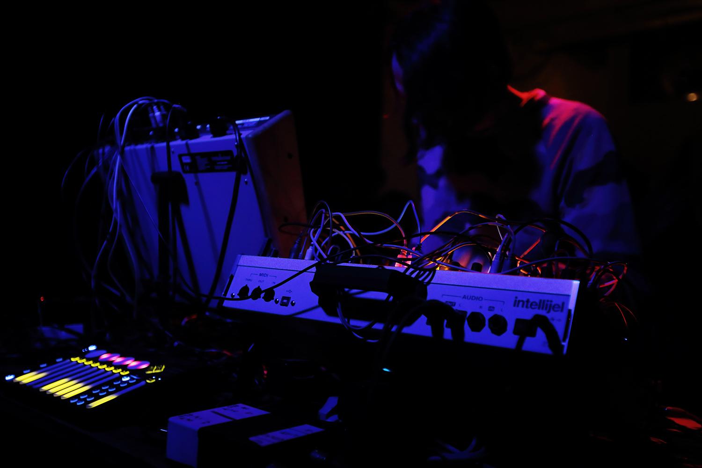 DSR Lines by Laurent Orseau - Concert - Les Ateliers Claus - Brussels, Belgium #5