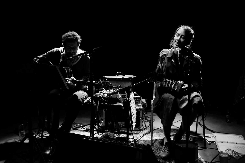Eloïse Decazes & Eric Chenaux by Laurent Orseau - Les Ateliers Claus - Brussels, Belgium #3