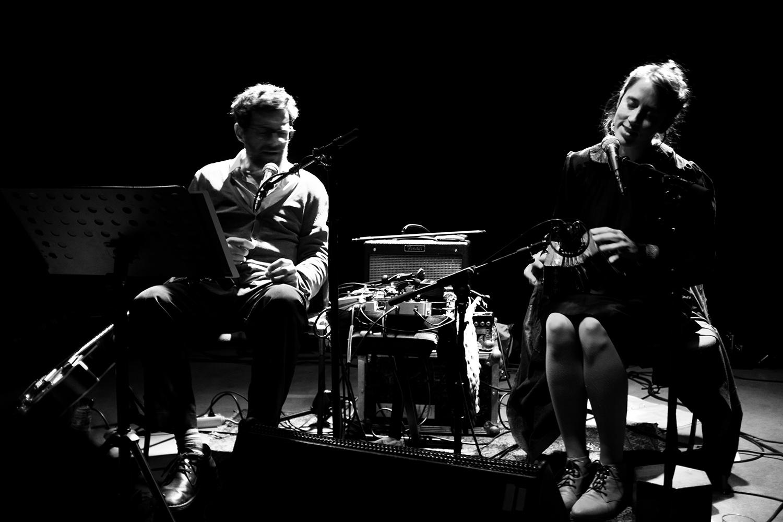 Eloïse Decazes & Eric Chenaux by Laurent Orseau - Les Ateliers Claus - Brussels, Belgium #5