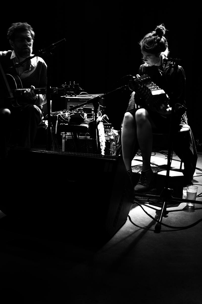Eloïse Decazes & Eric Chenaux by Laurent Orseau - Les Ateliers Claus - Brussels, Belgium #8