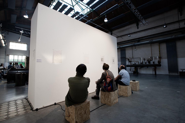 Ensemble 0 (installation sonore) - Delicate Music Festival - BRASS - Brussels, Belgium