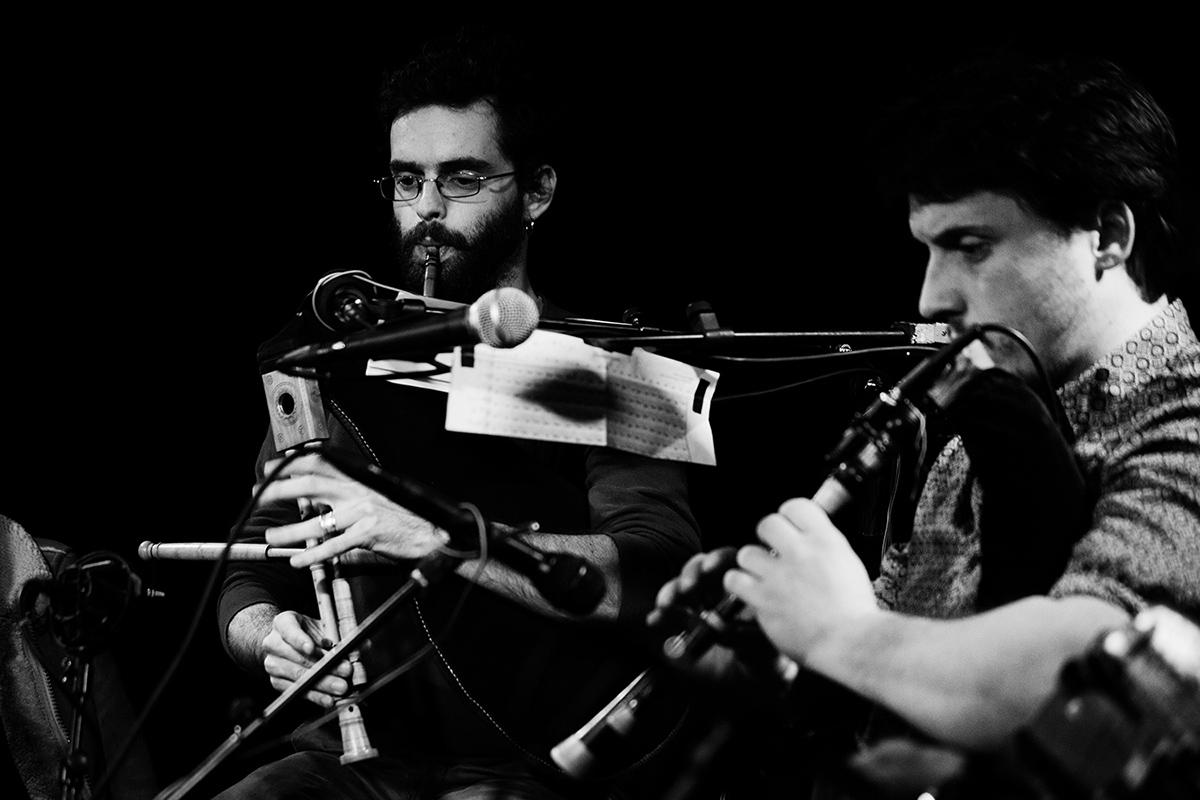FLUX by Laurent Orseau - Concert - Les Ateliers Claus - Brussels, Belgium #11