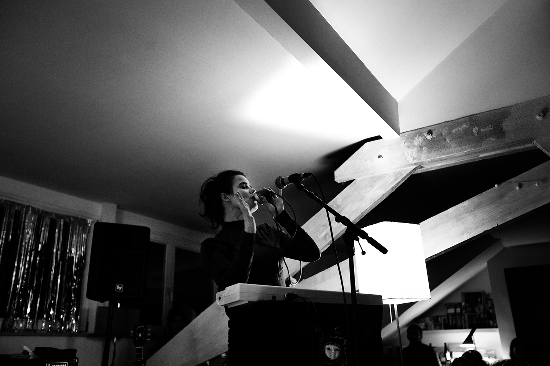 Françoiz Breut by Laurent Orseau - House Concert - Brussels, Belgium #3