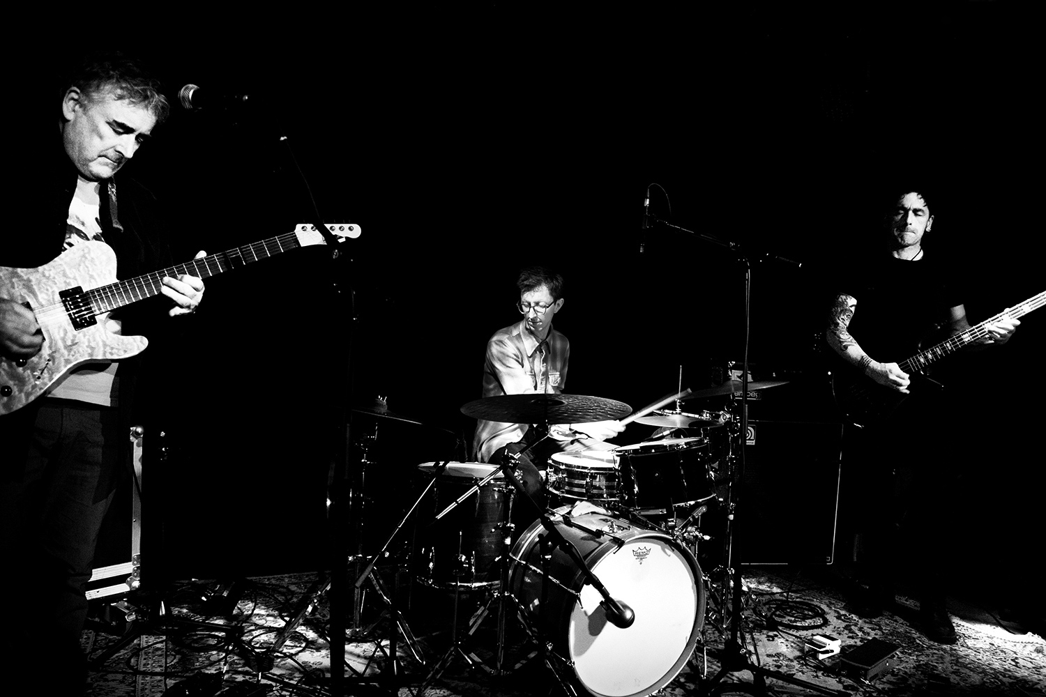 Fred Frith Trio - Concert - Les Ateliers Claus - Brussels, Belgium