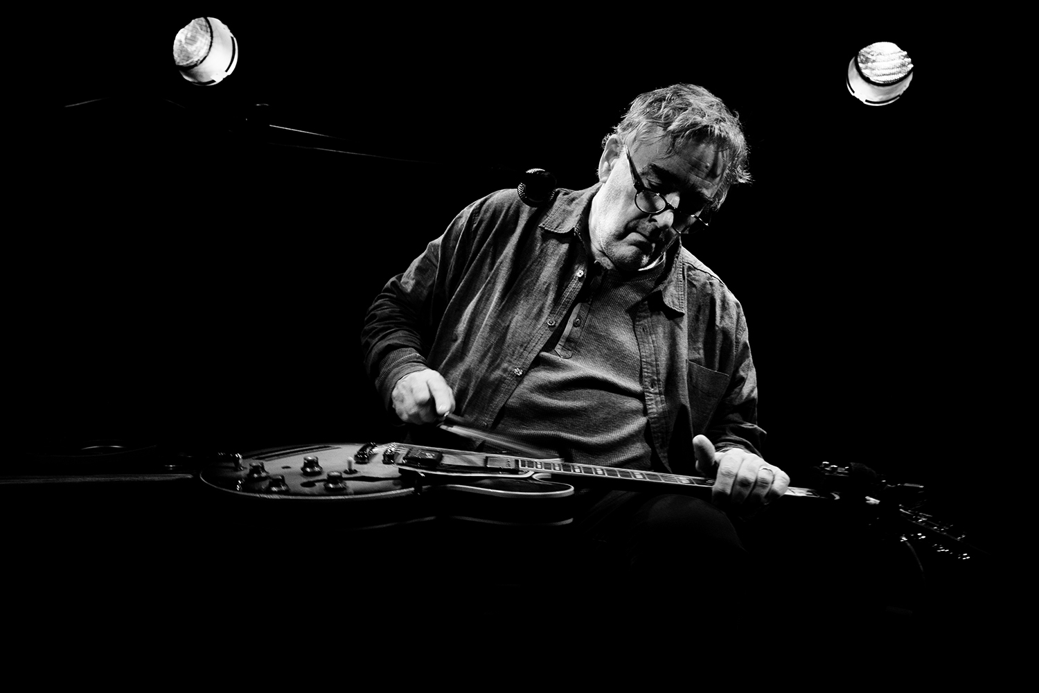 Fred Frith by Laurent Orseau - Les Ateliers Claus - Brussels, Belgium #10