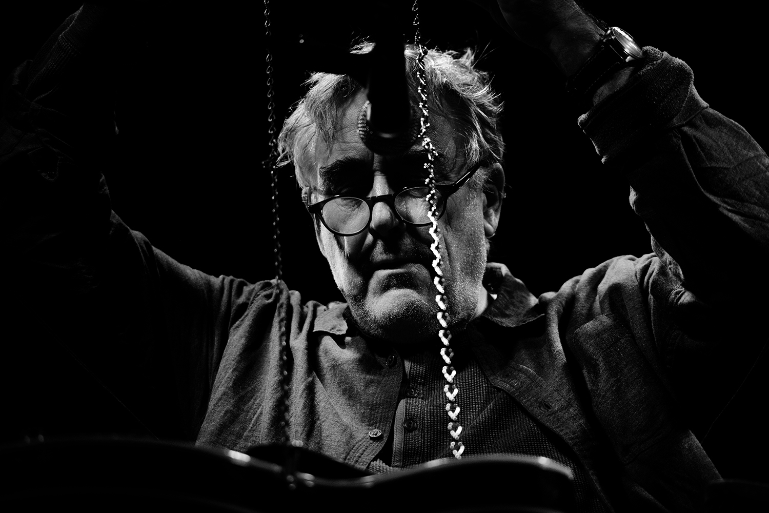 Fred Frith by Laurent Orseau - Les Ateliers Claus - Brussels, Belgium #3