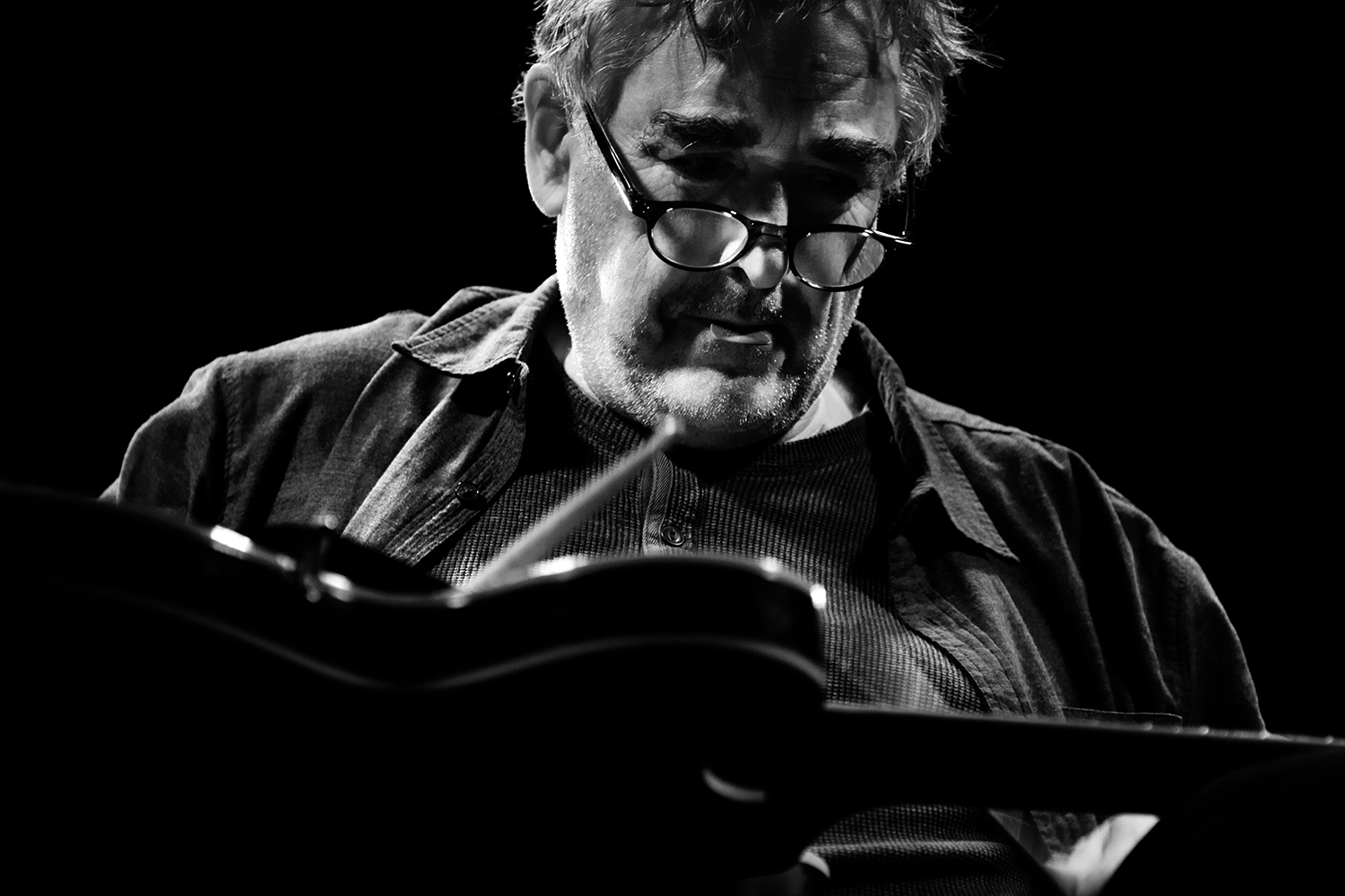 Fred Frith by Laurent Orseau - Les Ateliers Claus - Brussels, Belgium #6
