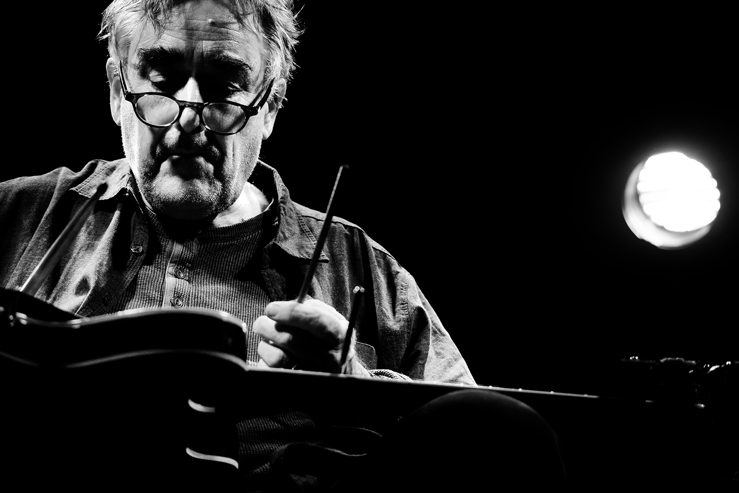 Fred Frith by Laurent Orseau - Les Ateliers Claus - Brussels, Belgium #8
