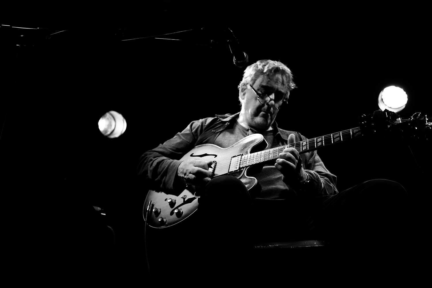 Fred Frith by Laurent Orseau - Les Ateliers Claus - Brussels, Belgium #9