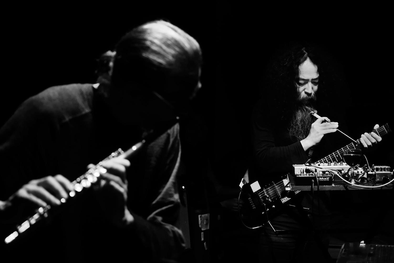 Geoff Leigh & Makoto Kawabata by Laurent Orseau - Les Ateliers Claus - Brussels, Belgium #4