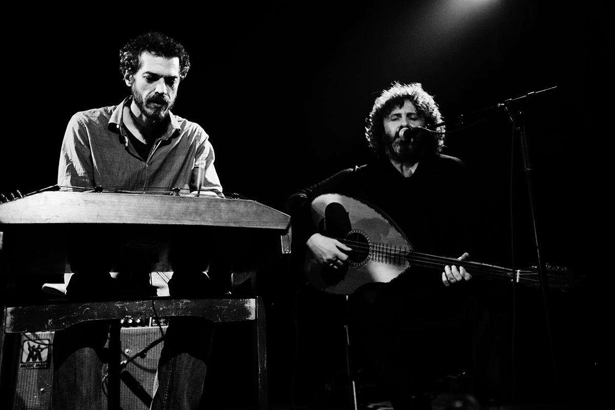 Xylouris White (Giorgos Xylouris & Jim White + Fanis Karoussos) by Laurent Orseau - Les Ateliers Claus - Brussels, Belgium #6