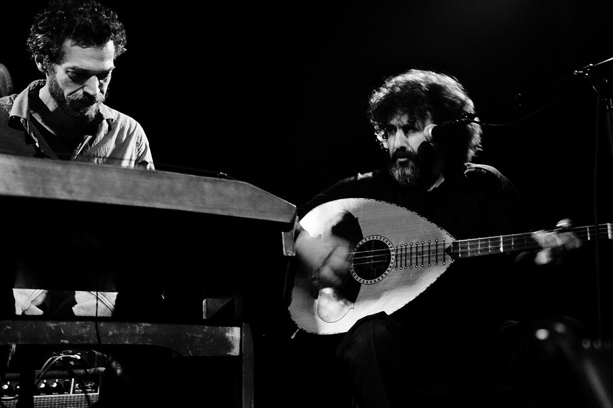 Xylouris White (Giorgos Xylouris & Jim White + Fanis Karoussos) by Laurent Orseau - Les Ateliers Claus - Brussels, Belgium #7