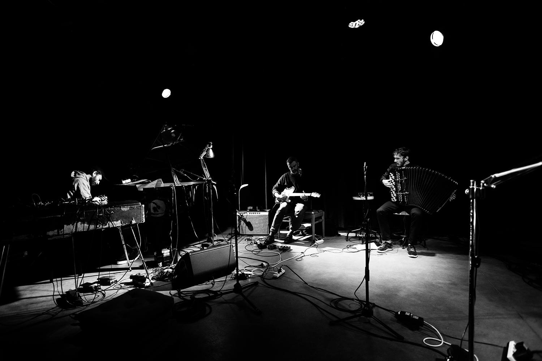 Giovanni Di Domenico & Pak Yan Lau & Manuel Mota & Joe Talia & Stan Maris by Laurent Orseau - Les Ateliers Claus - Brussels, Belgium #1