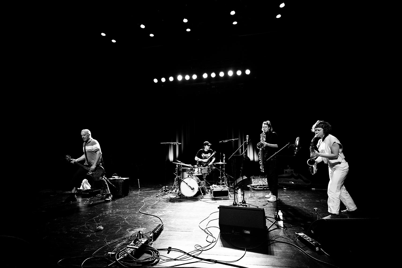 Hanne De Backer & Terrie Hessels & Signe Emmeluth & Raf Vertessen by Laurent Orseau - Summer Bummer Festival - De Studio - Antwerp, Belgium #11