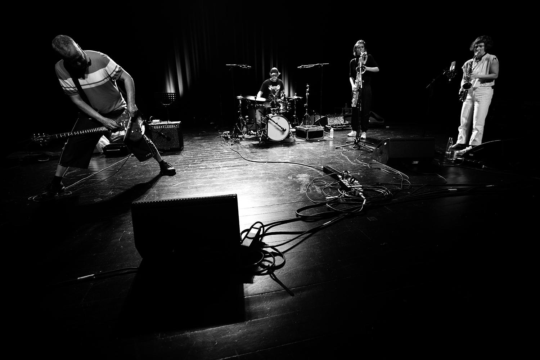 Hanne De Backer & Terrie Hessels & Signe Emmeluth & Raf Vertessen by Laurent Orseau - Summer Bummer Festival - De Studio - Antwerp, Belgium #2
