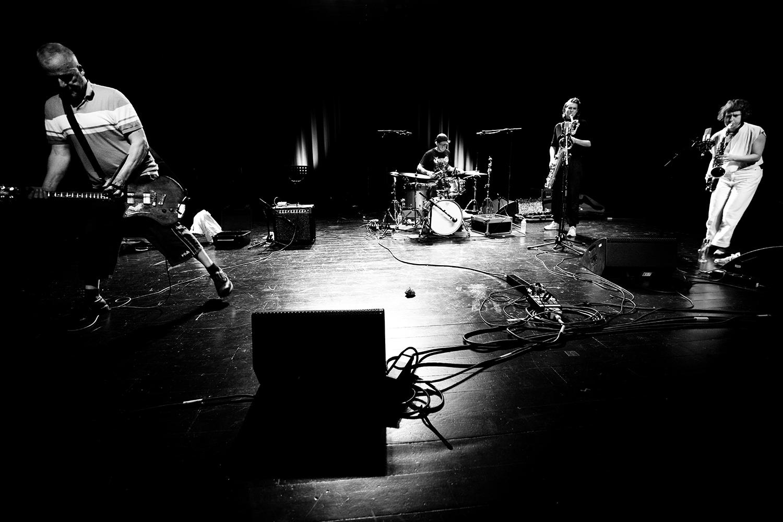 Hanne De Backer & Terrie Hessels & Signe Emmeluth & Raf Vertessen by Laurent Orseau - Summer Bummer Festival - De Studio - Antwerp, Belgium #3