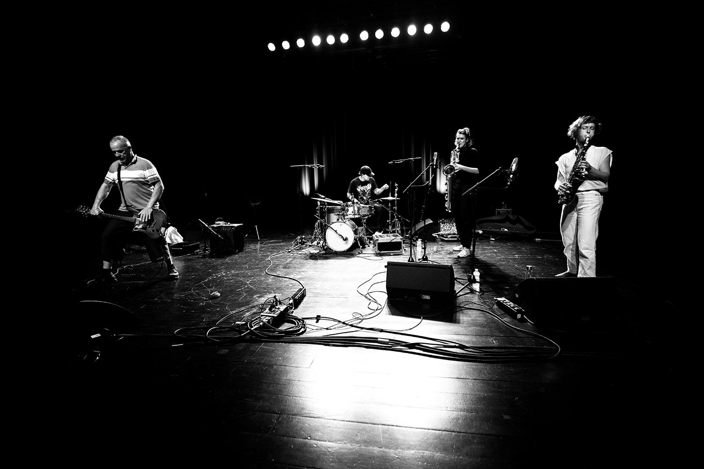 Hanne De Backer & Terrie Hessels & Signe Emmeluth & Raf Vertessen by Laurent Orseau - Summer Bummer Festival - De Studio - Antwerp, Belgium #9