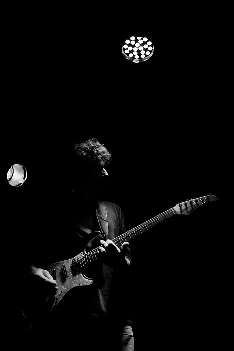 Heldon by Laurent Orseau - Concert - Les Ateliers Claus - Brussels, Belgium #10