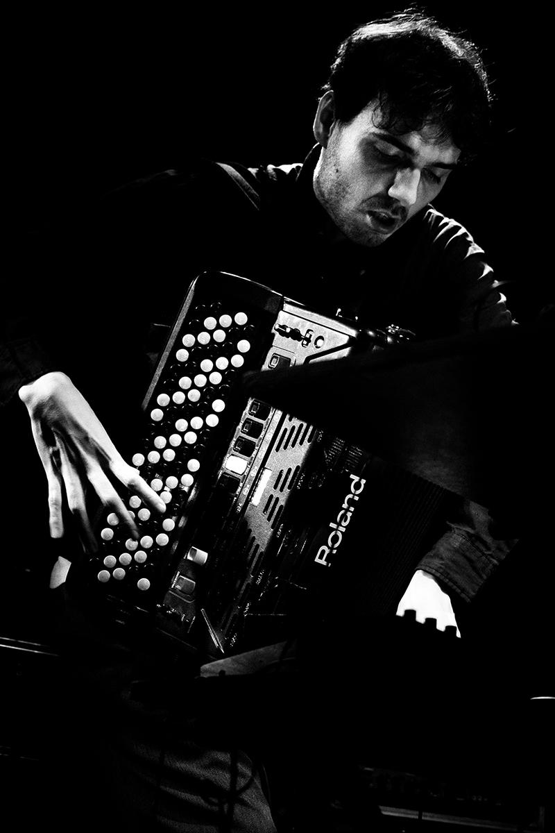 Heldon by Laurent Orseau - Concert - Les Ateliers Claus - Brussels, Belgium #17