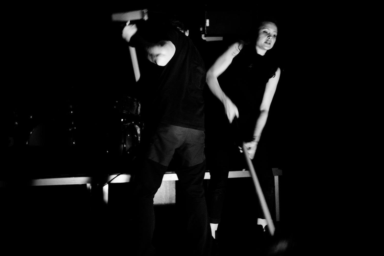 Inga Huld Hákonardóttir & Yann Leguay by Laurent Orseau - Les Ateliers Claus - Brussels, Belgium #2
