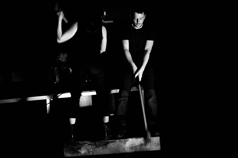 Inga Huld Hákonardóttir & Yann Leguay by Laurent Orseau - Les Ateliers Claus - Brussels, Belgium #3