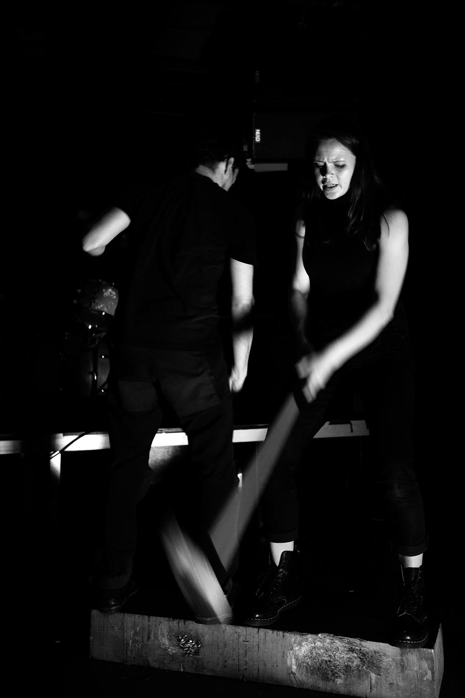Inga Huld Hákonardóttir & Yann Leguay by Laurent Orseau - Les Ateliers Claus - Brussels, Belgium #5