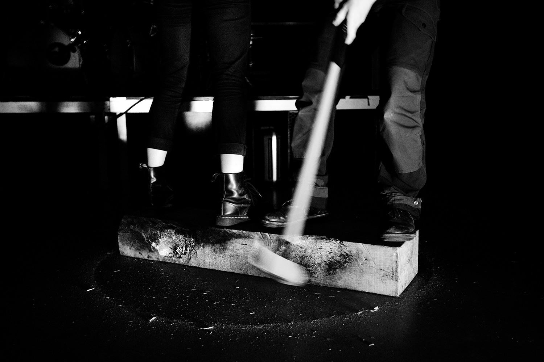 Inga Huld Hákonardóttir & Yann Leguay by Laurent Orseau - Les Ateliers Claus - Brussels, Belgium #8