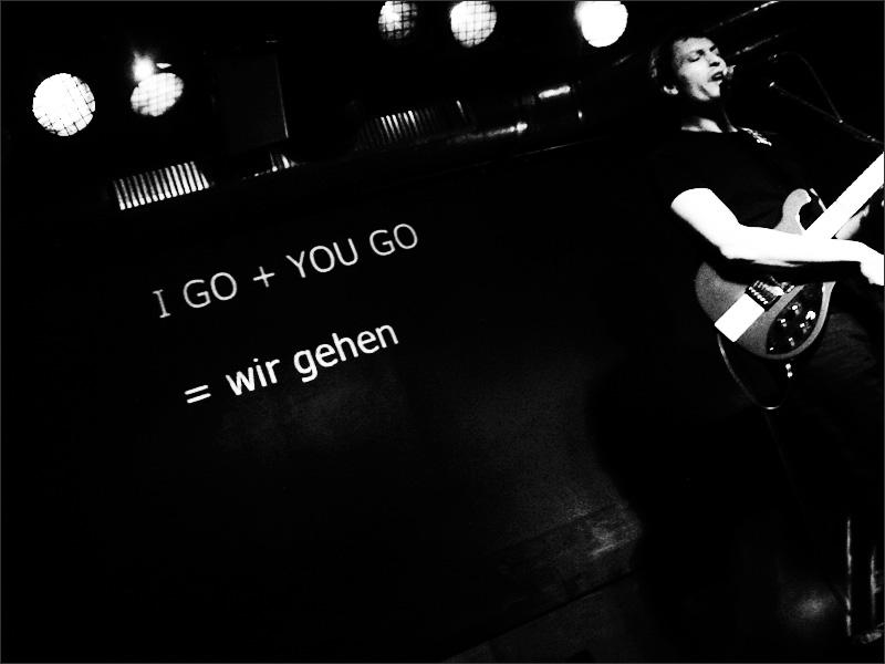 Initials DC by Laurent Orseau - Clubkeller - Frankfurt am Main, Germany #15
