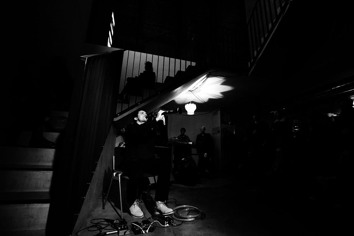 Joachim Badenhorst by Laurent Orseau - Concert - Les Ateliers Claus - Brussels, Belgium #4