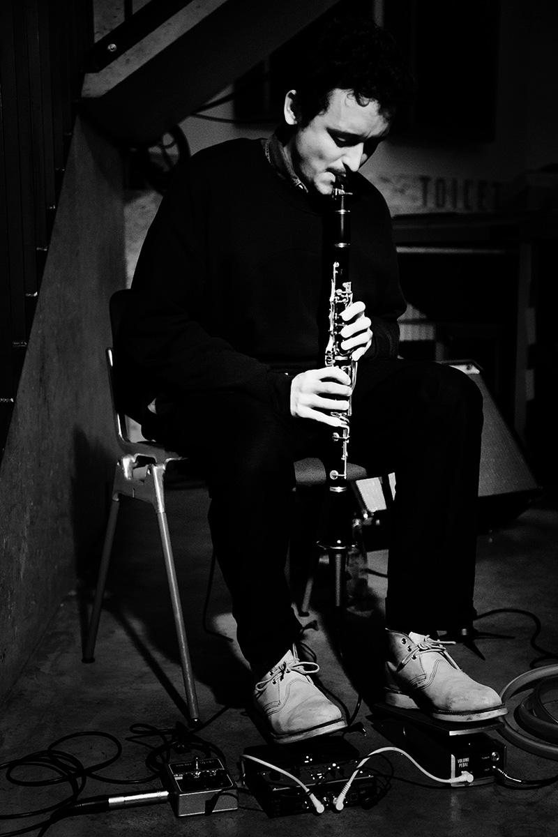 Joachim Badenhorst by Laurent Orseau - Concert - Les Ateliers Claus - Brussels, Belgium #5