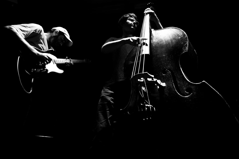 João Lobo Trio (João Lobo & Norberto Lobo & Soet Kempeneer) by Laurent Orseau - Les Ateliers Claus - Brussels, Belgium #4