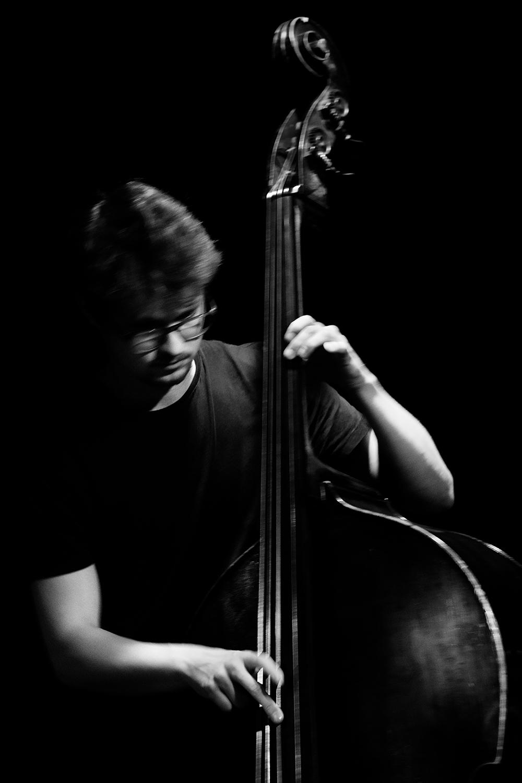 João Lobo Trio (João Lobo & Norberto Lobo & Soet Kempeneer) by Laurent Orseau - Les Ateliers Claus - Brussels, Belgium #11