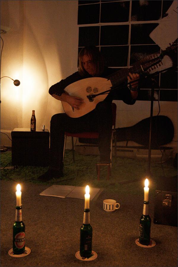 Jozef van Wissem by Laurent Orseau - Walpodenakademie - Mainz, Germany #1