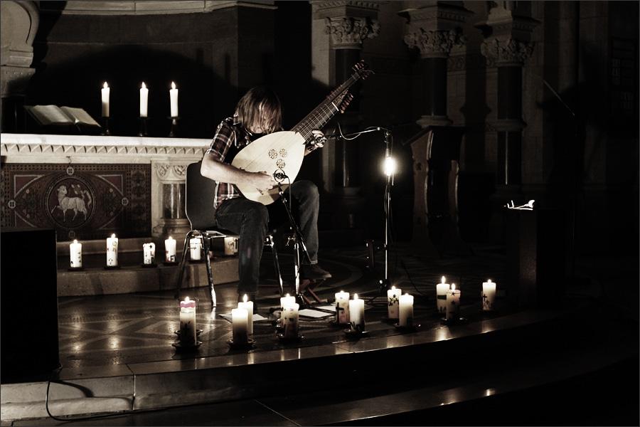 Jozef van Wissem by Laurent Orseau - Ringkirche - Wiesbaden, Germany #4
