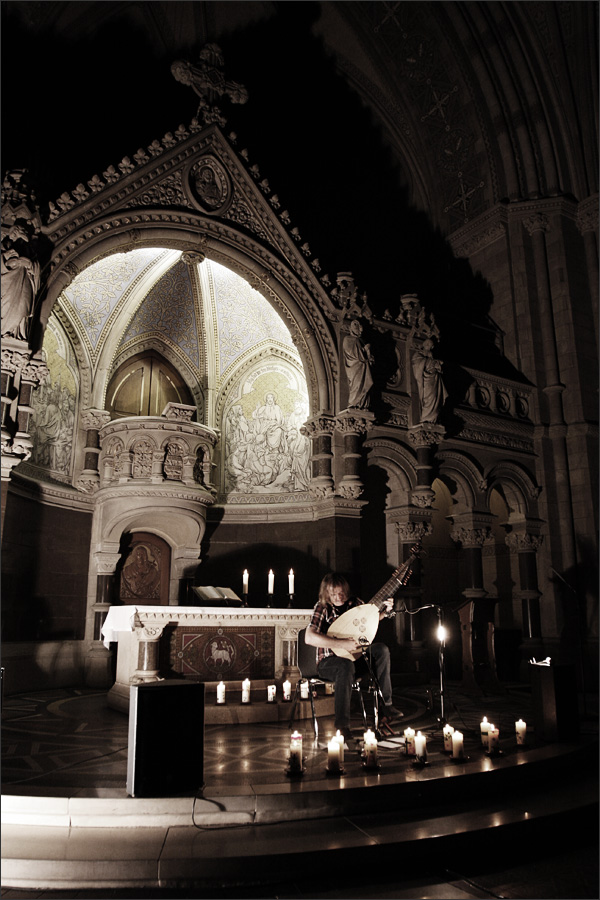 Jozef van Wissem by Laurent Orseau - Ringkirche - Wiesbaden, Germany #5