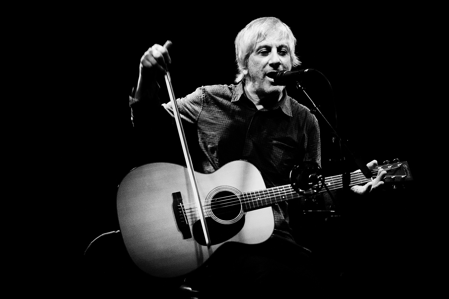 Lee Ranaldo by Laurent Orseau - Les Ateliers Claus - Brussels, Belgium #1