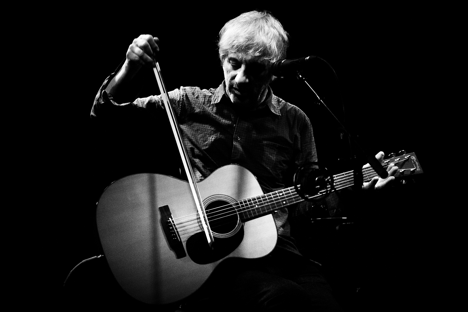 Lee Ranaldo by Laurent Orseau - Les Ateliers Claus - Brussels, Belgium #2