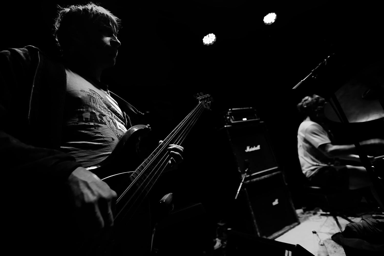Lightning Bolt by Laurent Orseau - Concert - Les Ateliers Claus - Brussels, Belgium #10