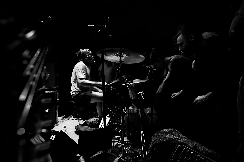 Lightning Bolt by Laurent Orseau - Concert - Les Ateliers Claus - Brussels, Belgium #12