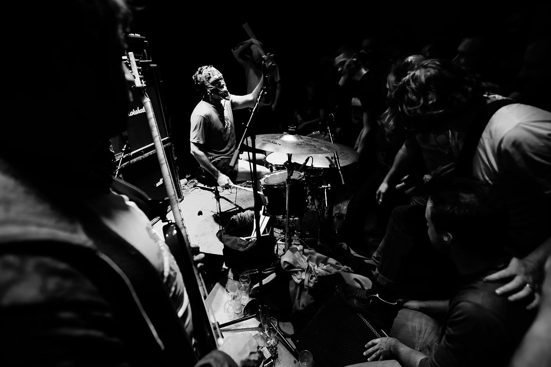 Lightning Bolt by Laurent Orseau - Concert - Les Ateliers Claus - Brussels, Belgium #13