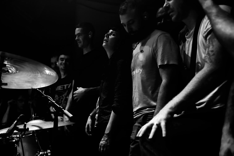 Lightning Bolt by Laurent Orseau - Concert - Les Ateliers Claus - Brussels, Belgium #19