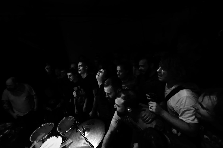 Lightning Bolt by Laurent Orseau - Concert - Les Ateliers Claus - Brussels, Belgium #20