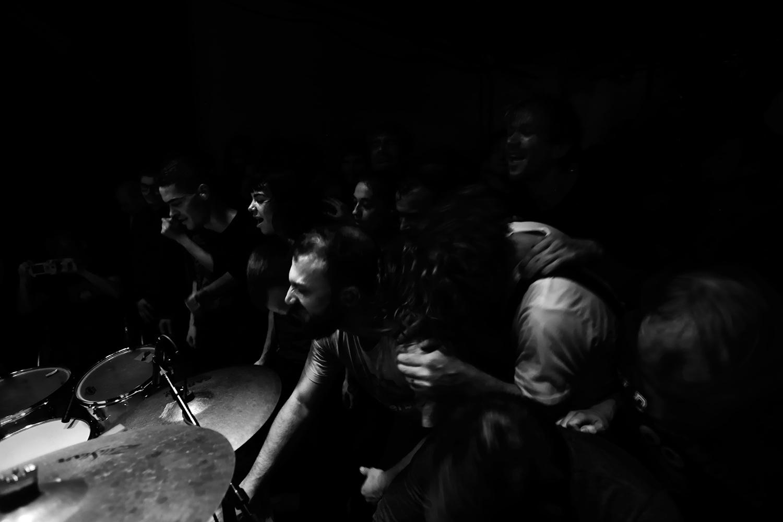 Lightning Bolt by Laurent Orseau - Concert - Les Ateliers Claus - Brussels, Belgium #22