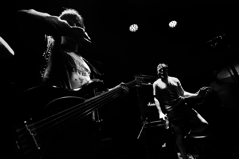 Lightning Bolt by Laurent Orseau - Concert - Les Ateliers Claus - Brussels, Belgium #4