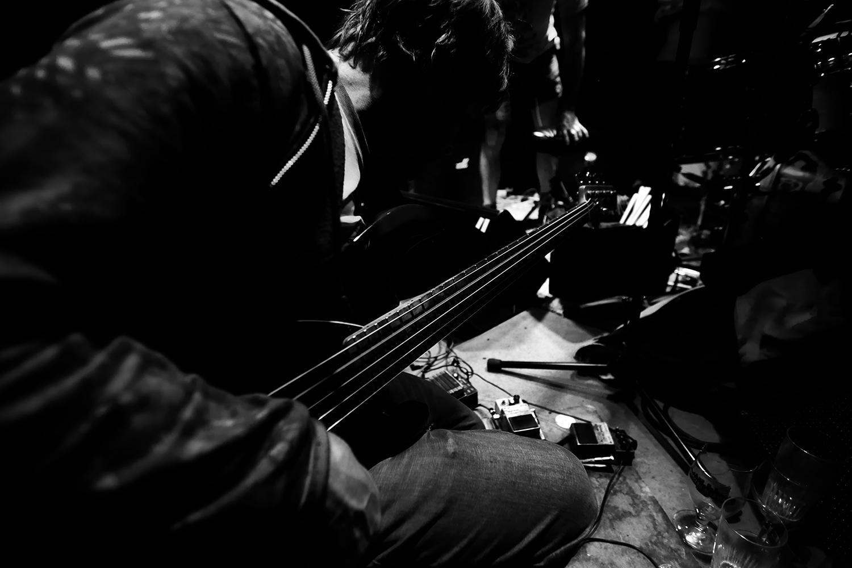 Lightning Bolt by Laurent Orseau - Concert - Les Ateliers Claus - Brussels, Belgium #6