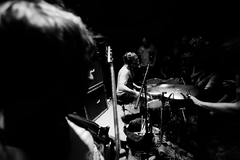 Lightning Bolt by Laurent Orseau - Concert - Les Ateliers Claus - Brussels, Belgium #7