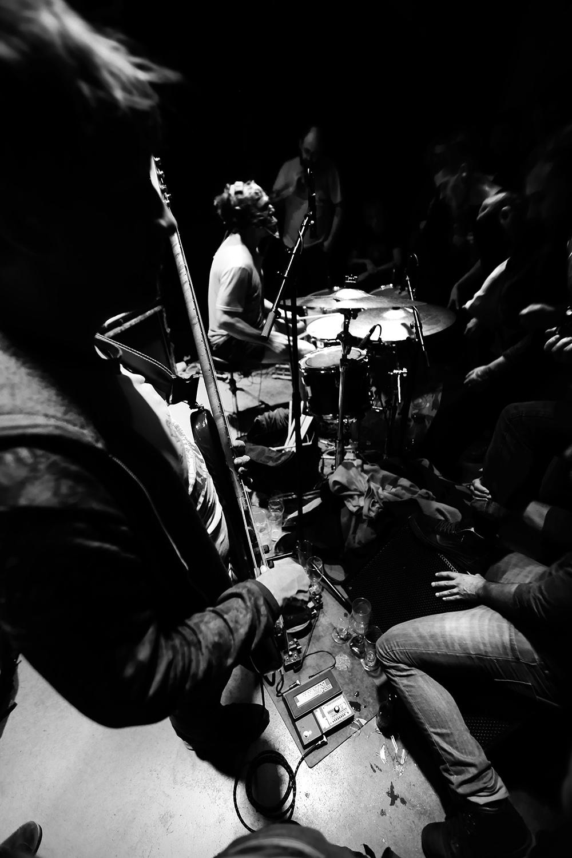 Lightning Bolt by Laurent Orseau - Concert - Les Ateliers Claus - Brussels, Belgium #8