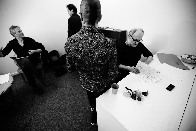 Lynn Cassiers - YUN by Laurent Orseau - Backstage - Flagey - Brussels, Belgium #4