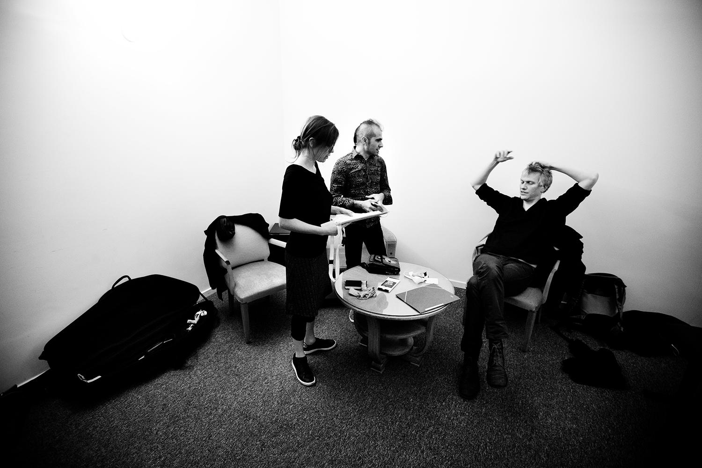 Lynn Cassiers - YUN by Laurent Orseau - Backstage - Flagey - Brussels, Belgium #5